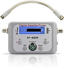 EX ELECTRONIX EXPRESS Digital Satellite Finder Meter for DirecTV - SF-95DR Backlit Plug and Play