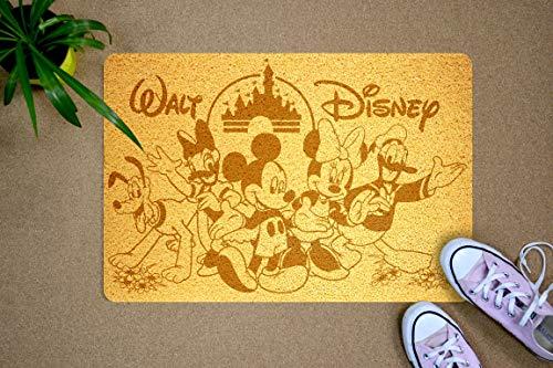 Felpudo StarlingShop Walt Disney con diseño de Daredevil, para puerta, diseño de Walt Disney