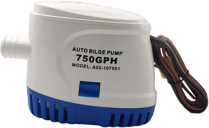 Automatic Submersible Bilge Max 42% OFF Max 65% OFF Pump Drainage 750 1100GPH Small