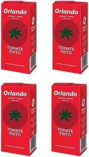 comprar comparacion Orlando - Tomate Frito Clásico Brik - 4 x 350 g