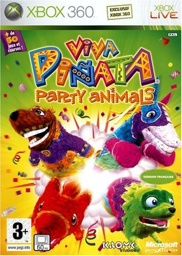 Microsoft Viva Piñata - Juego (FR, PAL, Xbox 360, Familia, Krome Studios)