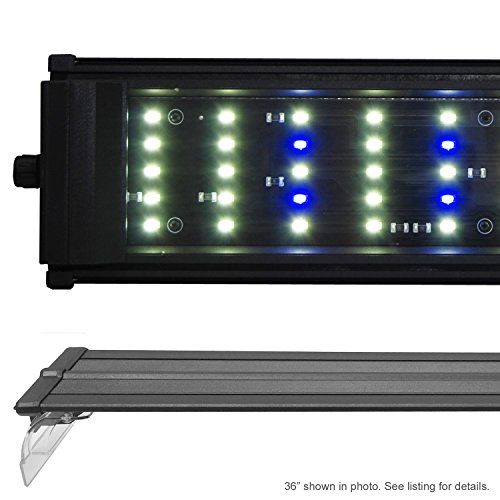 "Beamswork DA 6500K 0.50W Series LED Pent Aquarium Light Freshwater Plant Discus (120cm - 48"")"