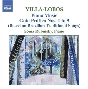 VILLA-LOBOS: Piano Music, Vol. 5 (Guia pratico I-IX)