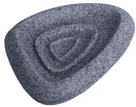 Mr. Leon Seifenschale Stein I mit Gummifüße moderne Seifenunterlage für Bad und Küche