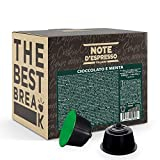 Note d'Espresso Italiano - Cápsulas, Chocolate a la Menta, Compatibles con cafeteras de cápsulas Nescafé, Dolce Gusto, 48 unidades de da 10g, Total: 480 g