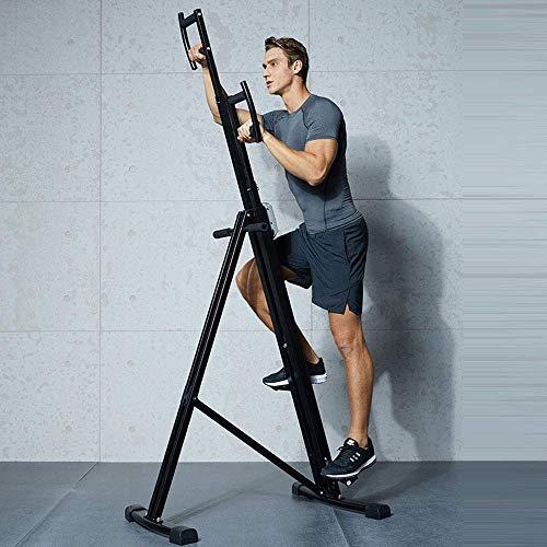Stepper Vertikal Climber Climbing-Maschine Kraftstationen Fitnessgeräte, Pedal-Maschine, Übung Stepper Maschine, Stepper Trainingsgerät - Up-Down Stepper for Anfänger und Fortgeschrittene BTZHY
