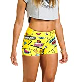 Short YESFUN BANBROKEN Pantalón Corto Deportivo para Fitness Mujer, Gimnasio, Crossfit, Calistenia, Halterofilia, Yoga etc (S)