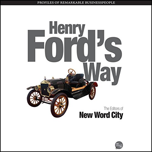 Henry Ford's Way audiobook cover art