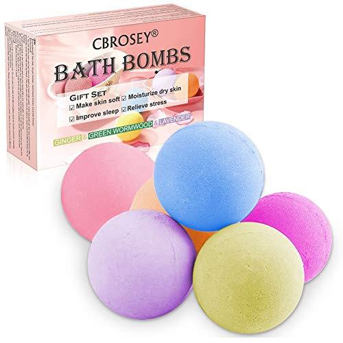 Bombe de Bain,Bath Bomb,Bath Bomb Kit,Bombes de Bain Pour les Soins de la Peau et la Relaxation,Cadeau pour Femmes,Les filles,Des gamins sur Saint Valentin Anniversaire