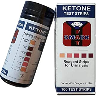 Ketone Strips - Smackfat Ketone Strips for a High Quality Keto Diet - 100 Strips