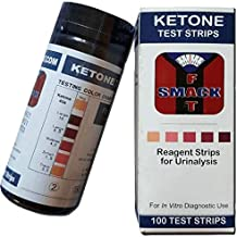 Smackfat Keto Strips - Keto Strips Urine Test - High Quality 100 Strips