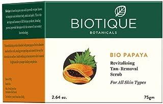 Biotique Bio Papaya Revitalizing Tan-Removal Scrub 75Gm