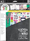 Create 365 The Happy Planner Back to School Teacher Accessory Pack Teachers Change the World (Fits BIG Sized Happy Planners)