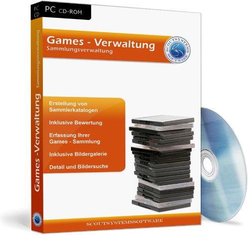 Games Verwaltung Software - PC Spiele, Konsolen Spiele verwalten