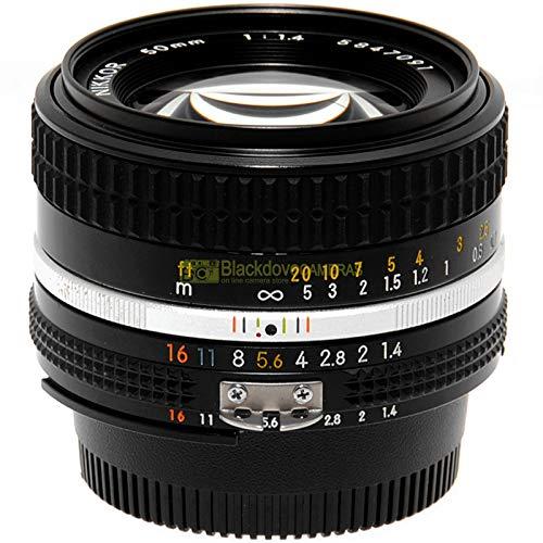 Obiettivo Nikon AI-s 50 mm f1,4 per fotocamere reflex a pellicola e digital