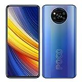 Poco X3 Pro Smartphone RAM 8GB ROM 256GB 120Hz 6.67' FHD + LCD DotDisplay Qualcomm® SnapdragonTM 860, 5160mAh (typ) Batería 48MP Cámara Azul [Versión Global]