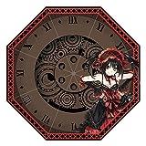 KaiWenLi Date A Live Tokisaki Kurumi Pattern/Anime Umbrella/Cartoon Folding Umbrella /8 Umbrella Bone UV Protection/Windproof Travel Umbrella/Suitable for Adults and Children, Anime Lovers