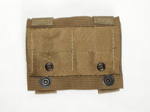Specialty Defense Systems G.I. Military MOLLE II Alice Clip Adaptor - Coyote - Set of (2)