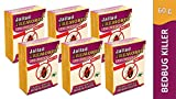 Jallad Tremores BugsPowerful Bed & Termites Killer Spray Powder (Pack of Six)