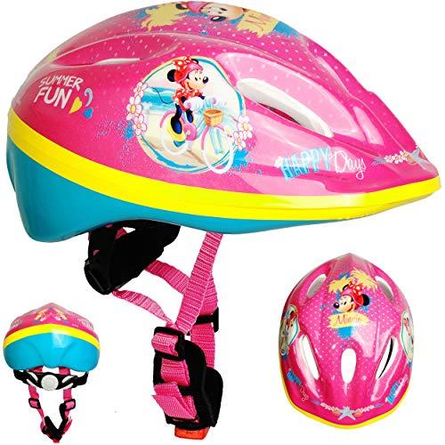 alles-meine.de GmbH Kinderhelm / Fahrradhelm - Disney - Minnie Mouse - Gr. 52 - 56 - Circa 3 bis 15 Jahre - Größen verstellbar / mitwachsend - TÜV geprüft - Helm - für Roller und..