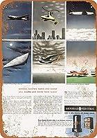 1943年一般電気レーダーコレクティブルウォールアート