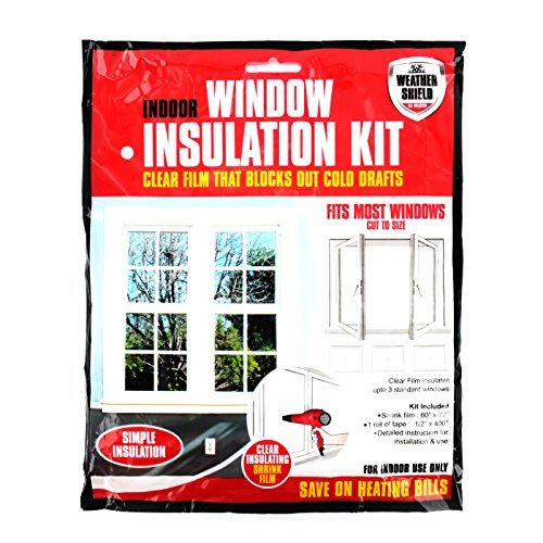 Home Window Insulation Kit Heating Glass Draught Excluder Double Glazing...