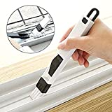2 in 1 Window Gap Slot Cleaning Small Household Dustpan and Brush Easily Clean Vents Keyboards etc by The...