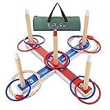 LetsGO toyz Kinderspiele ab 4-12 Jahren, Wurfspiele für Draußen Spielzeug ab 4-12 Jahre Junge Geschenke Jungen Mädchen 5-12 Jahre Outdoor Spiele für Jungen Weihnachts Geschenke für Kinder