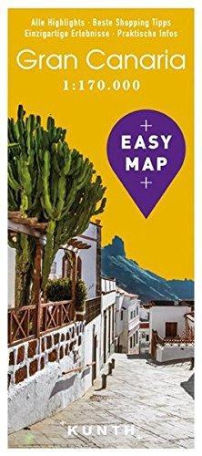 EASY MAP Gran Canaria: 1:170.000