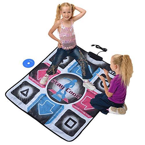 Kafuty rutschfeste Haltbare Tanzmatten Tänzer Decke mit USB für PC mit Hohem Grade Empfindlichem Span und mit Hochwertiges PVC Material.