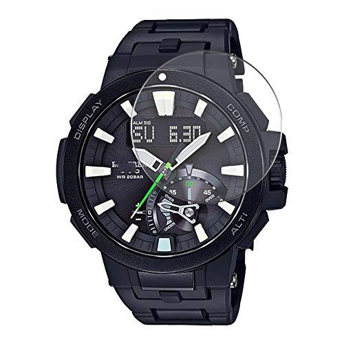 Vaxson 3-Pack TPU Pellicola Protettiva, compatibile con CASIO PRO TREK PRW-7000 PRW7000 Series, Screen Protector Film [ Non Vetro Temperato ]