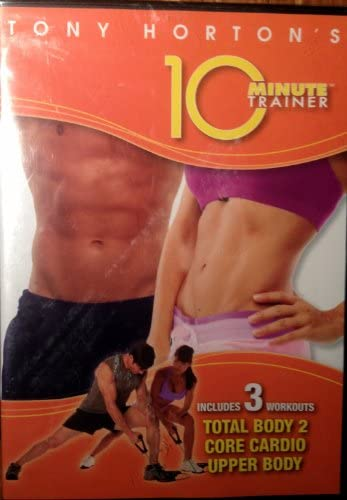 Tony Horton s 10 Minute Trainer Includes 3 Workouts Total Body 2 Core Cardio Upperbody product image