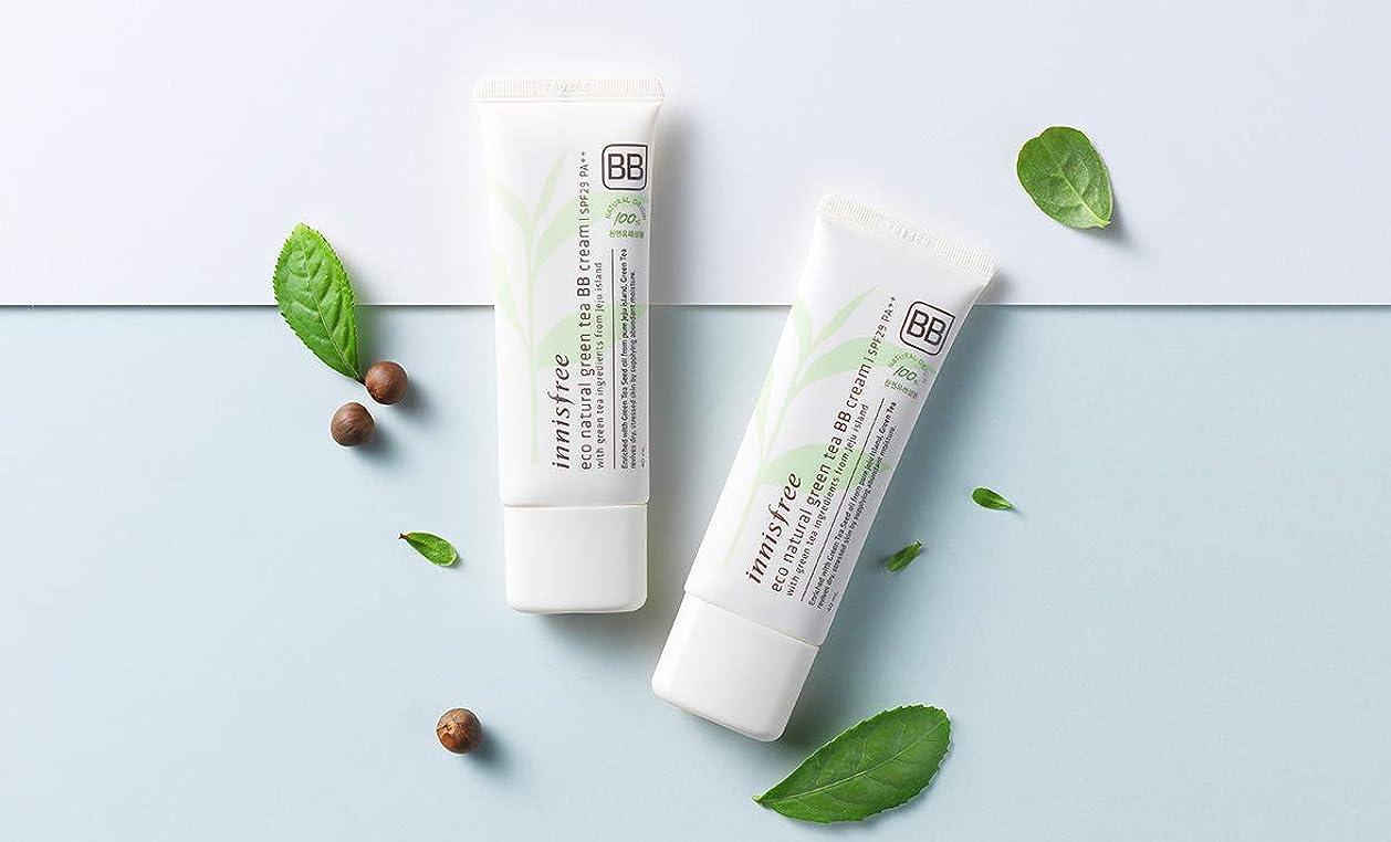 アンペア知り合いどれ[イニスフリー.INNISFREE](公式)エコナチュラルグリーンティーBBクリームSPF29/ PA++40mL(「2019新製品)/ ECO NATURAL GREEN TEA BB CREAM (#1 華やかなしっとり肌/Brilliant moist skin)