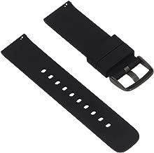 Coohole Replacement Silicagel Soft Band Strap Bracelet For Garmin Fenix Chronos GPS Watch (black)