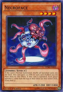 YU-GI-OH! - Necroface (DPRP-EN039) - Duelist Pack: Rivals of The Pharaoh - 1st Edition - Common