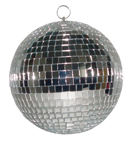 Ibiza MB008 Discokugel, Schwarz