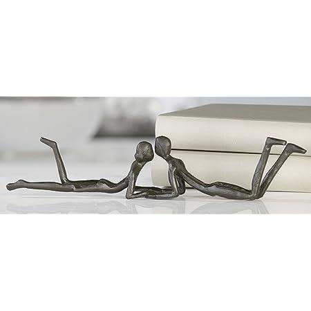 Casablanca Design Skulptur Loving brüniert 30cm 74607