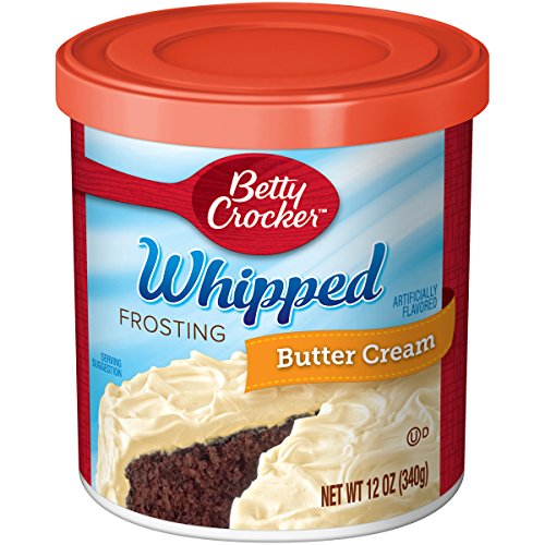 Betty Crocker Frosting, Whipped Gluten Free Frosting, Butter Cream, 12 Oz Canister