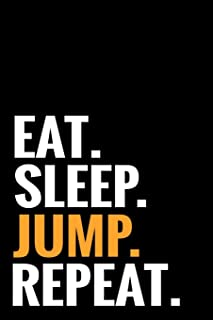 Eat. Sleep. Jump. Repeat.: Skydiving Log Book   Keep Track of Your Jumps   84 pages (6