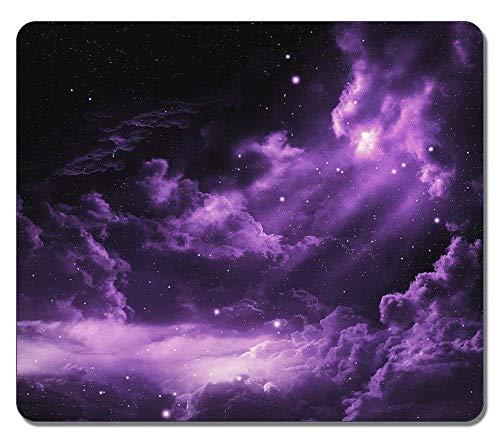 Mauspad Profound Purple Nebula Space Natürliches Öko-Design Big 25X30Cm Office Printed Mousepad Desktops Mausmatte Gummi Rutschfeste Mauspads Personalisierte, Robuste, Benutzerdefi