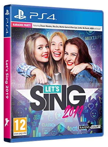 Let's Sing 2019 + Mic - PlayStation 4