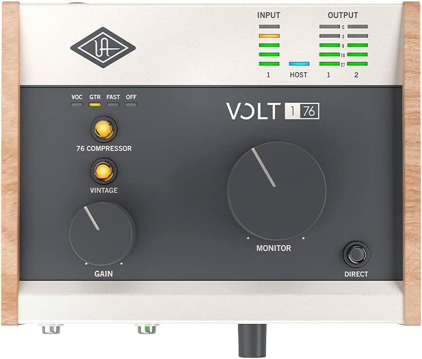 Universal Audio Volt 176:上面