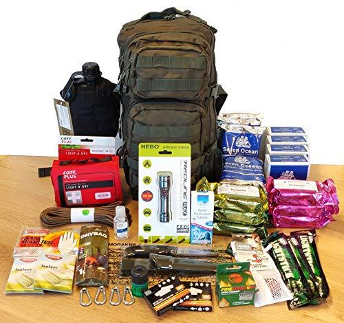 Prepshop Komplette Notfall-Kit im Rucksack   Survival-Kit   Überlebenskit   Notfall Outdoor Survival Kit