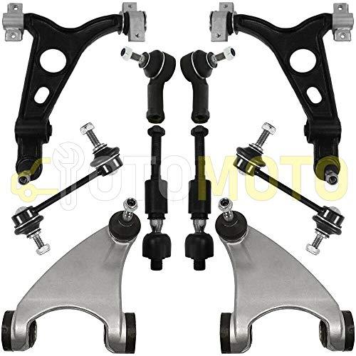 Bras de suspension avant pour ALFA ROMEO 147 156 GT triangle, rotule, biellette 10 pièces