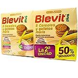 Ordesa DUPLO Blevit Plus Duplo 8 cereales y galletas maría, 2x600gr
