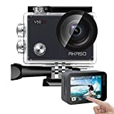AKASO V50X Native 4K30fps WiFi Action Camera 20MP Ultra HD with...