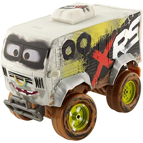 Cars 3 GBJ45  XRS Mud Racing Arvy Deluxe Veicolo Die-Cast, Giocattolo per Bambini 3+ Anni
