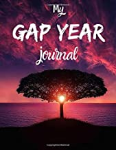 My GAP YEAR journal: Noteboo/journal/diary/photo scrapbook for anyone looking to find themselves whilst travelling.   80 black lined pages   A4   8.5x11 inches