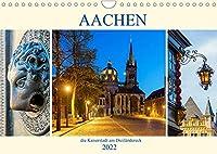 Aachen - die Kaiserstadt am Dreilaendereck (Wandkalender 2022 DIN A4 quer): Fotosammlung aus der Kaiserstadt Aachen (Monatskalender, 14 Seiten )