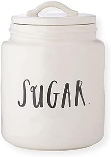 RAE DUNN Sugar Canister - Stem Print Lettering